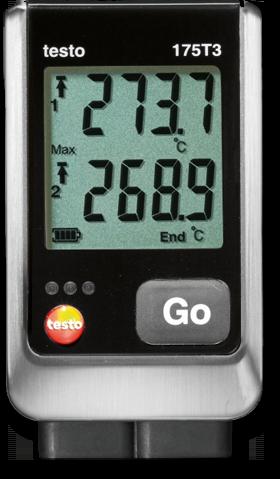 Логгер температуры testo 175-T3
