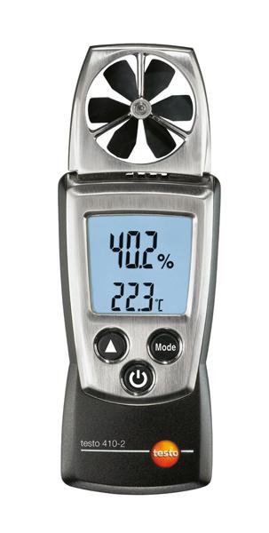 Testo 410-2 (карманный анемометр с крыльчаткой)