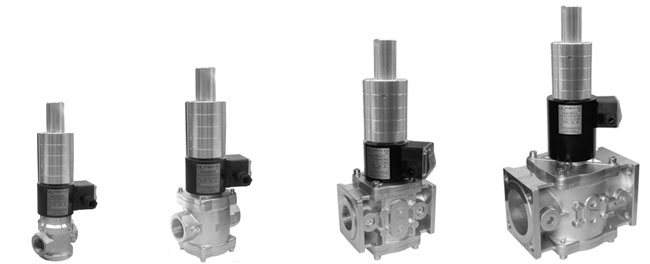 Клапаны электромагнитные двухпозиционные серии ВН с медленным открытием