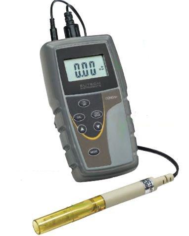 Портативные приборы Eutech для измерения проводимости и общей жесткости воды: COND 6+, TDS 6+