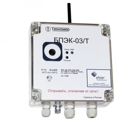 БПЭК-03/Т, БПЭК-03/ТШ - источник питания со встроенным GSM модемом для передачи данных с электронного корректора ТС215