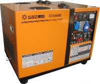 Газовый энергогенератор GAZLUX СС5000D