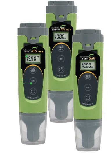 Эконом-серия приборов Eutech для измерения проводимости, общей жесткости и солености воды