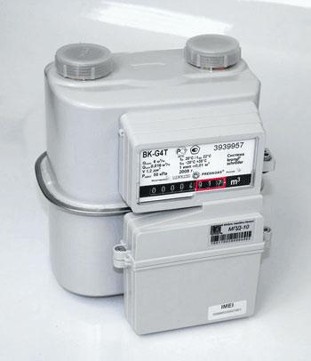МПД-10 - модуль передачи и обработки данных от газовых счётчиков