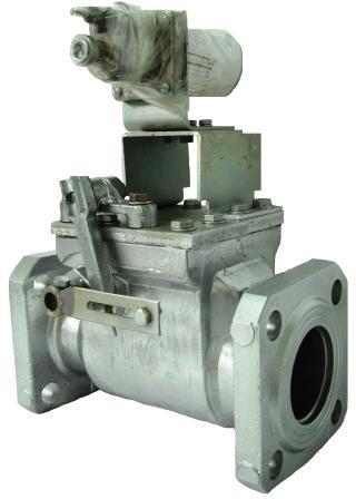 Клапан предохранительный запорный электромагнитный КПЭГ