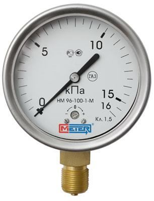 Манометр низких давлений (напоромер) МЕТЕР НМ 96