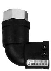Переход-отвод Frialen WUSTM 90 ПЭ-ВП/сталь с внутренней резьбой
