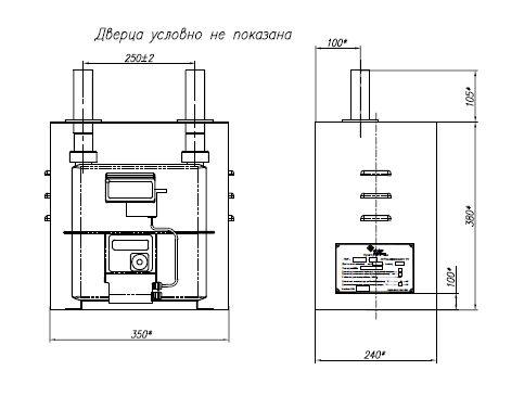 ПУГ-Ш-2,5 Пункт учета газа