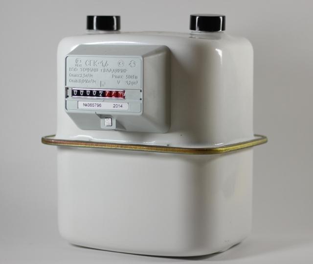 Счетчик газа СГК-1,6
