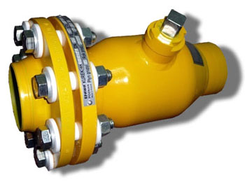 Шаровый кран газовый WKp-2a Ду-20
