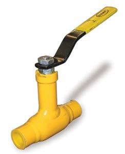 Неполнопроходные муфтовые краны WKс-1c на газ